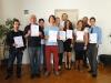 Abschluss Heilmasseur 2011 - 2012 - Die glücklichen TeilnehmerInnen