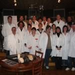 Fotos von der Ausbildung zum Heilmasseur der Yoni Academy