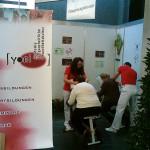 Fotos der Yoni Academy von der Seniorenmesse