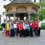 Fotos von der Ausbildung zum Wellnesstrainer der Yoni Academy